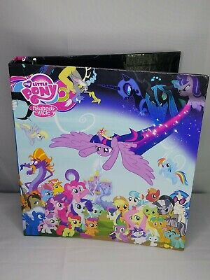My Little Pony Friendship is Magic Binder 9-card foil puzzle set & checklist