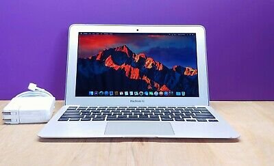 Apple MacBook Air 11 inch Laptop / 2.6GHZ Core i5 TURBO / 128GB SSD / OSX-2019