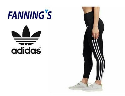 SALE! Adidas Ladies Sport 3S PES 7/8 Active Tight 3 Stripe VARIETY SZ/COLOR A12