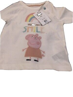 Bnwt Peppa Pig Outfit 12-18 Months