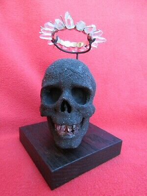 Magnificent Magical Carved Skull Of Impermanence Shamanic Fetish ~ Indonesia