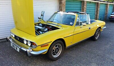 Triumph Stag 1976 In Fantastic Condition. Mimosa Yellow. Original Stag Engine.