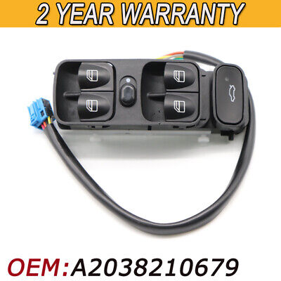 FORD RANGER 02-06 12 PIN Electric Window Switch 2 Way Driver Side 2M34 14505DA41