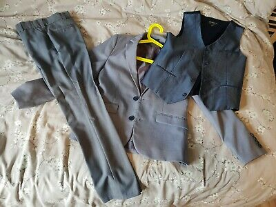 Boys Suit River Island Howick 9-10-11 Years
