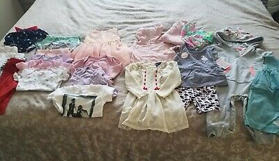 Baby Girl Clothing 24 piece Lot (size 6-9 Months) EUC!