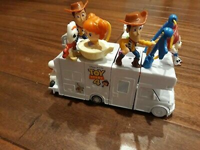 McDonalds 2019 Toy Story 4 Set Complete Build of the RV