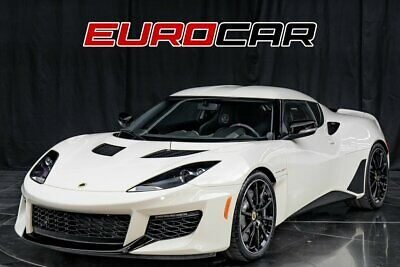 2020 Lotus Evora GT 2020 Lotus Evora GT  3.5L Supercharged V6 422hp 317ft. lbs. Old English White