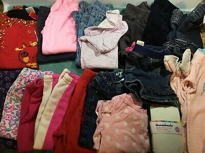 Toddler Girls clothes Fall/Winter size 18-24 months Clothes Lot Of 19~VGC