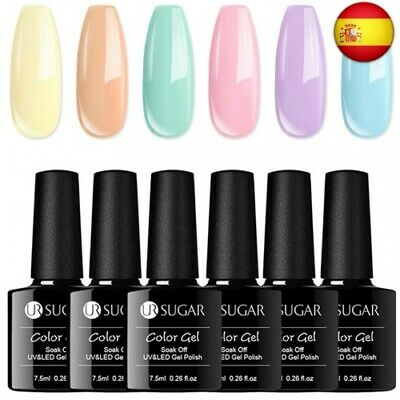 UR SUGAR 7,5ml Esmalte de Gel Semipermanente Colores del Caramelo Soak Off UV