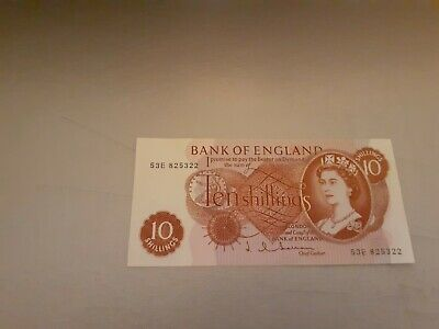 English 10 shilling note - Great Condition