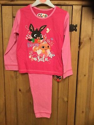 New With Tags Girls Pyjamas , Age 3-4 Years (104 Cm), Theme Bing .