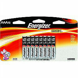 Energizer Max Aaa Batteries Brand New In Retail Package 16 Count