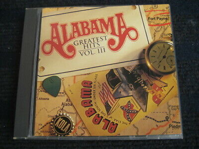 CD ALABAMA Greatest Hits III Very good condition 11 tracks Best of