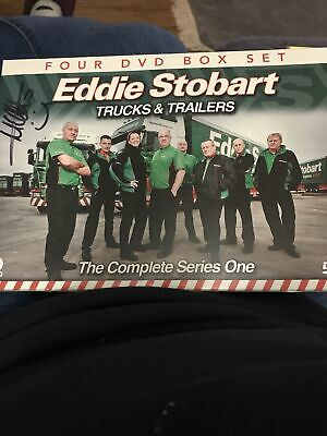 SIGNED Eddie Stobart - Trucks and Trailers: The Complete Series 1 DVD (2011)