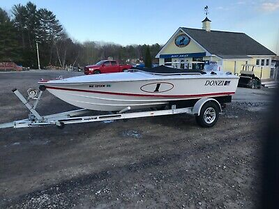 1996 Donzi Sweet 16 Runabout Performance Boat SUPER CLEAN