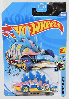 Hot Wheels ID 2020 Chase Motosaurus NEW for 2020 IN protector
