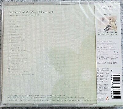 CD JAPAN CLANNAD anime  Tomoyo After ORIGINAL SOUNDTRACK OST - US SELLER