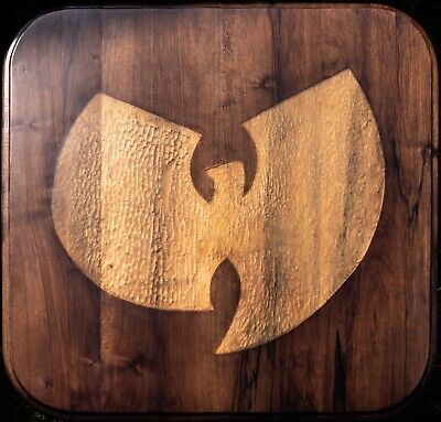 Wu-Tang Clan coffee table - artistic resin, antique table