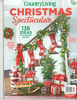 Country Sampler Farmhouse Style Holiday Magic2020 Christmas Winter Modern Living 8 99 Picclick