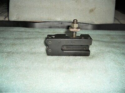 Aloris BXA-10 Combination Knurling, Turning, and Facing Quick Change Tool Holder