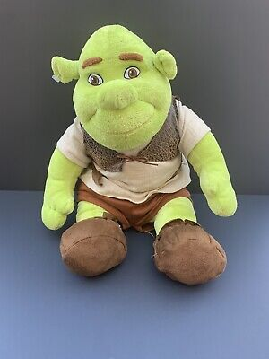 """NEW w//Tags SHREK Build A Bear Stuffed Plush 17/"""" Complete W//outfit~FREE SHIPPING"""