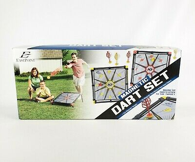 EastPoint Sports Magnetic Dart Board Lawn Set Portable Outdoor Tailgate YardGame