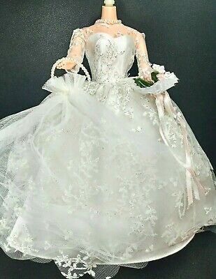 MACKIE HEAD BARBIE DOLL UNBOXED BRUNETTE OOAK CLOSED MOUTH UPDO