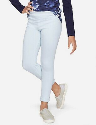JUSTICE Brand NWT Girls Fleece-Lined Full Length Soft Warm Leggings Size 24 PLUS