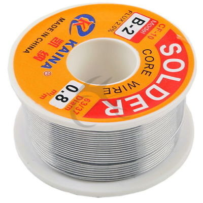 "0.44 lbs 200g. 2.2/% Rosin Flux Core 63//37 Solder Wire Sn63 Pb37 0.031/"" 0.8mm"