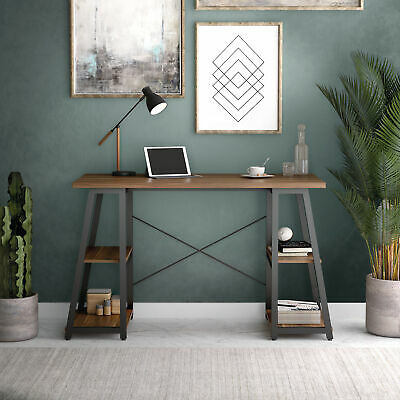 Centurion Supports ADONIS Black Gloss Finish Luxury Home Office Computer Desk