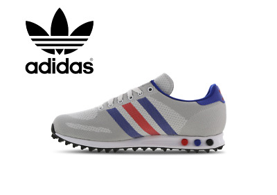 Convocar A la meditación Pascua de Resurrección  🔥🔥2020 ADIDAS ORIGINALS LA Trainer Weave , Men's (UK 6 - 12) Grey-Red-Blue  - £69.99 | PicClick UK