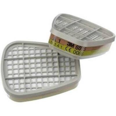3M 6075 Formaldehyde and A1 Gas Filters (Pack of 2)