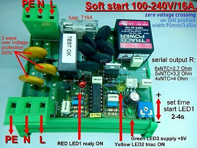 Soft start 230V//20A zero cross.