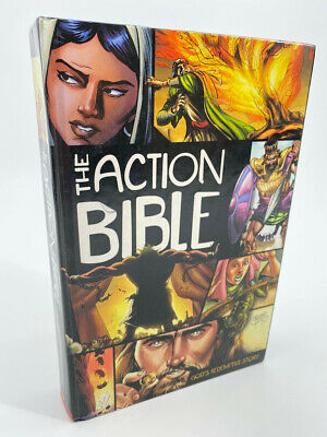 The Action Bible : God's Redemptive Story (Hardcover, 2010) by Sergio Cariello