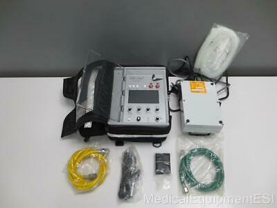 NEW Impact 754 UniVent Transport Ventilator with Case and Accessories ltv oxylog