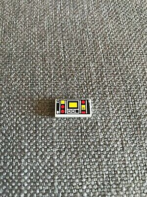 Black 1 X LEGO 56205 Phone Ghost Cell Phone 1x2 Ghost Pattern new New