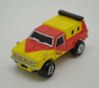RARE Micro Machines '50s Ford Panel Truck BOBS  Yellow 1987 Galoob Good Cond