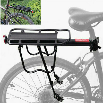 Rear Bicycle Rack Cargo Rack Quick Release Alloy Carrier 110 Lb Capacity New