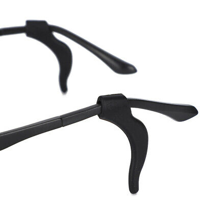 20 Paire Support Crochet D/'Oreille Anti-glisse Silicone Jambes Pour Lunettes