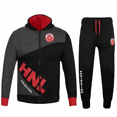 Kids Girls Boys Unisex Tracksuit Red Pedal Power Zipped Top Bottom Jogging Suit