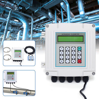 Meter Water Panel 48mm × 24mm 4-20mA Out Digital DIN Standard Flow Rate