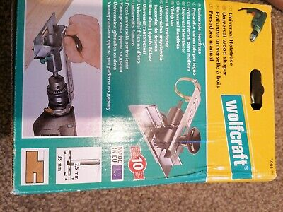 Wolfcraft 3001000 SHAPER Drill Attachment  Cutter/ 8mm-all screws are missing