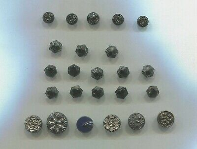 3 SIZE 8 high-quality gold x 13 mm 20 mm 25 mm metal buttons
