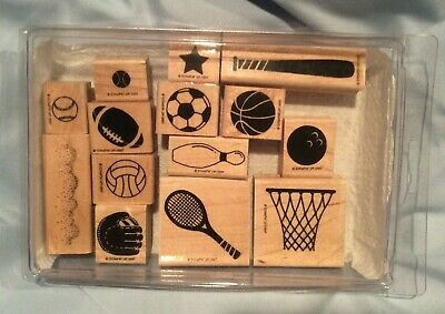 Have A Ball Rubber Stamp Set retired from Stampin Up