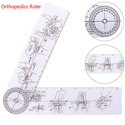 Goniometer Angle Medical Ruler Rule Joint Orthopedics Tool Instruments NL