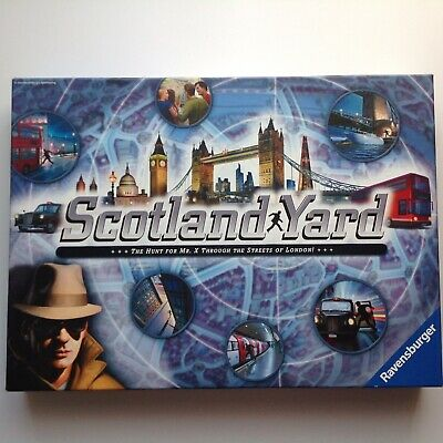 SCOTLAND YARD BOARD GAME BY RAVENSBURGER C.2014 COMPLETE HARDLY PLAYED VGC