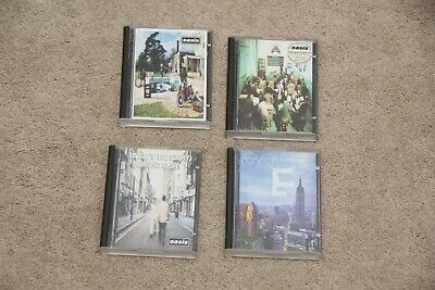 Oasis What's The story Morning Glory Be Here Now Standing On The MiniDisc Albums