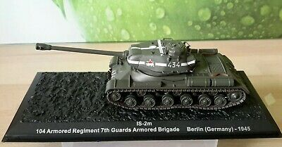 104 ARMOURED BATTALION 7TH GUARDS BERLIN 1945 DEAGOSTINI 1:72 IS-2M SEALED