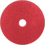 "12"" Red Floor Cleaning Pad For Oreck and Bissel Floor Machines"