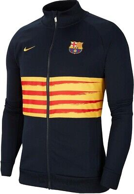 Nike Youth Barcelona FC Track Jacket I96 Senyera (Blue) - Age 10-11 - New